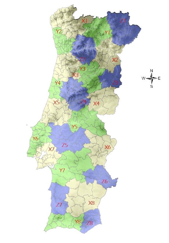 mapa Anacom